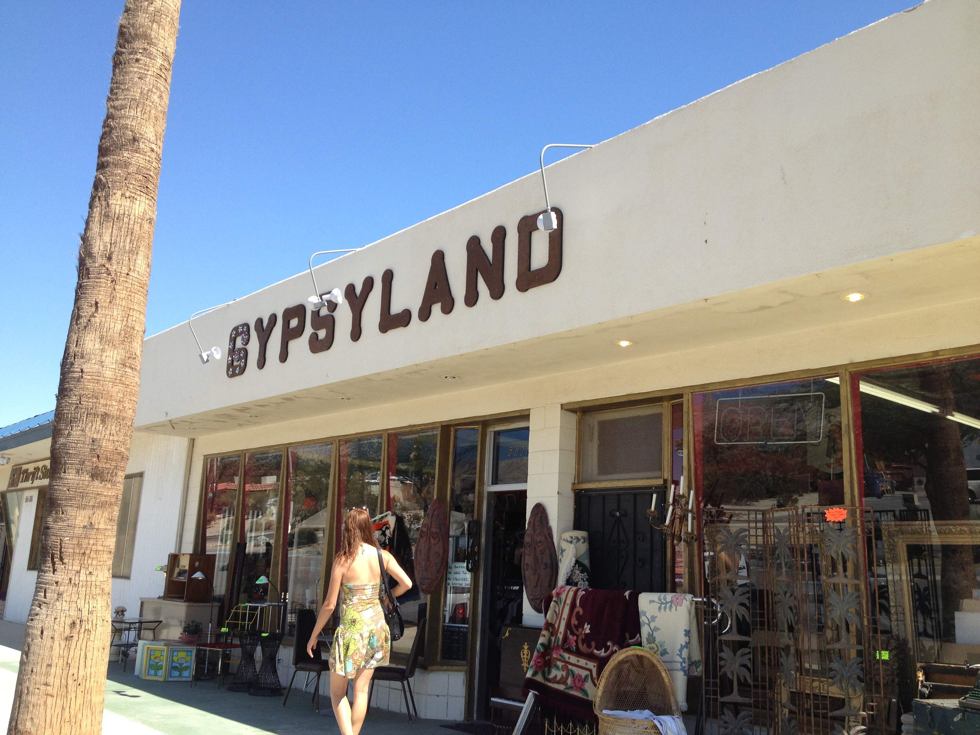 Day #22 Vintage and Thrift Shopping in Palm Springs : L.A.cation